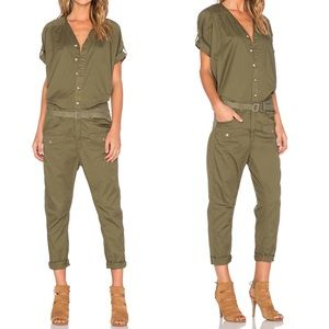 G-Star RAW Lorin jumpsuit utility coveralls green
